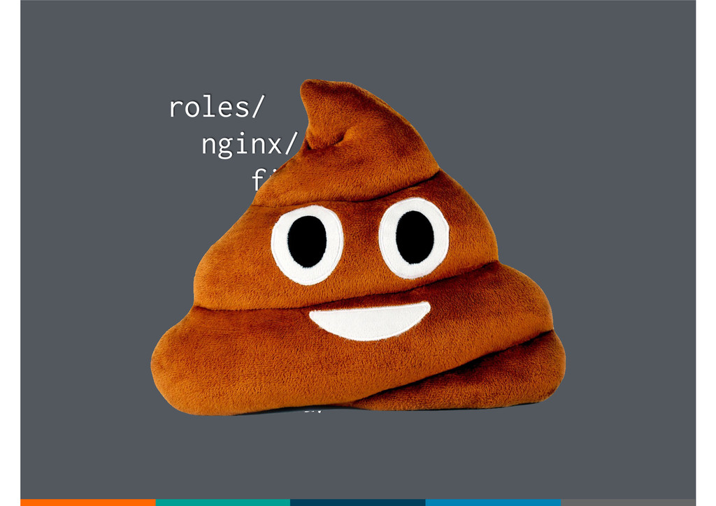 roles/ nginx/ files/ templates/ tasks/ handlers...