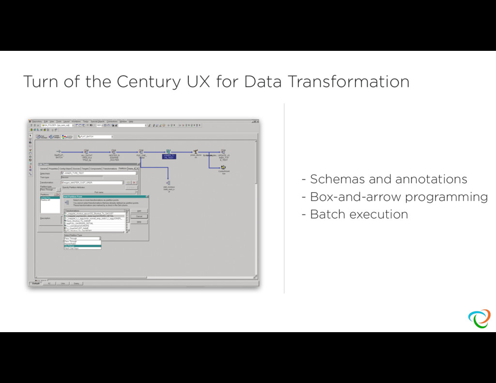 Turn of the Century UX for Data Transformation ...