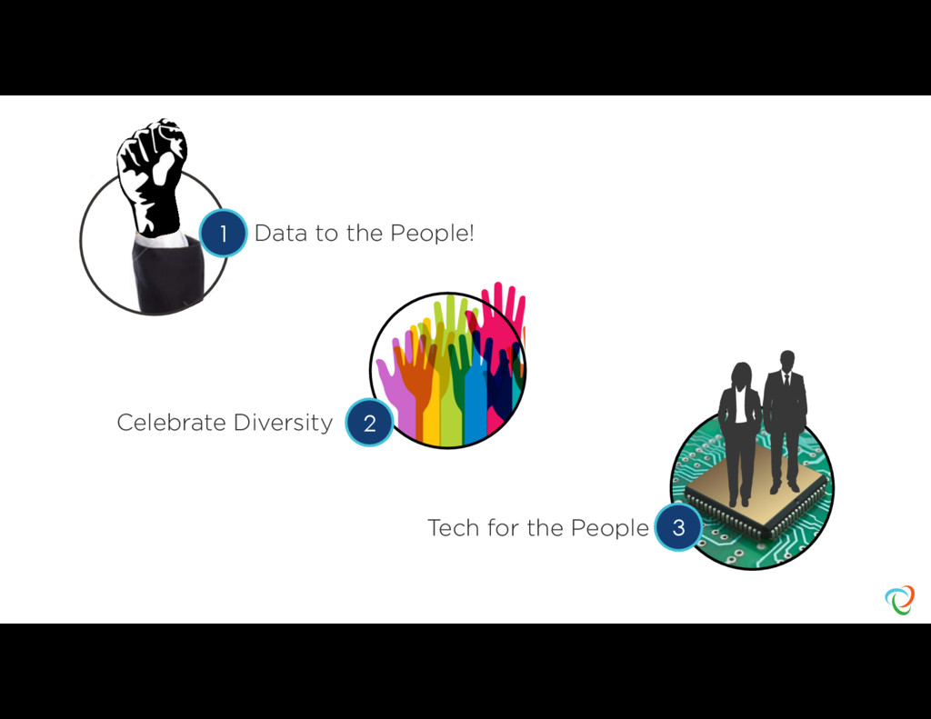 Data to the People! Celebrate Diversity Tech fo...