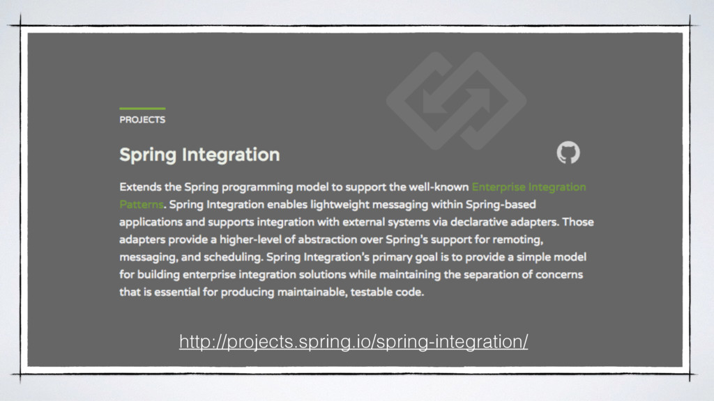 http://projects.spring.io/spring-integration/