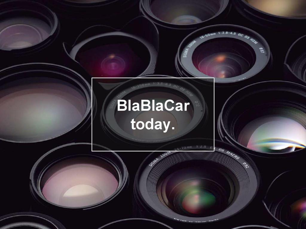 Objectifs BlaBlaCar today.