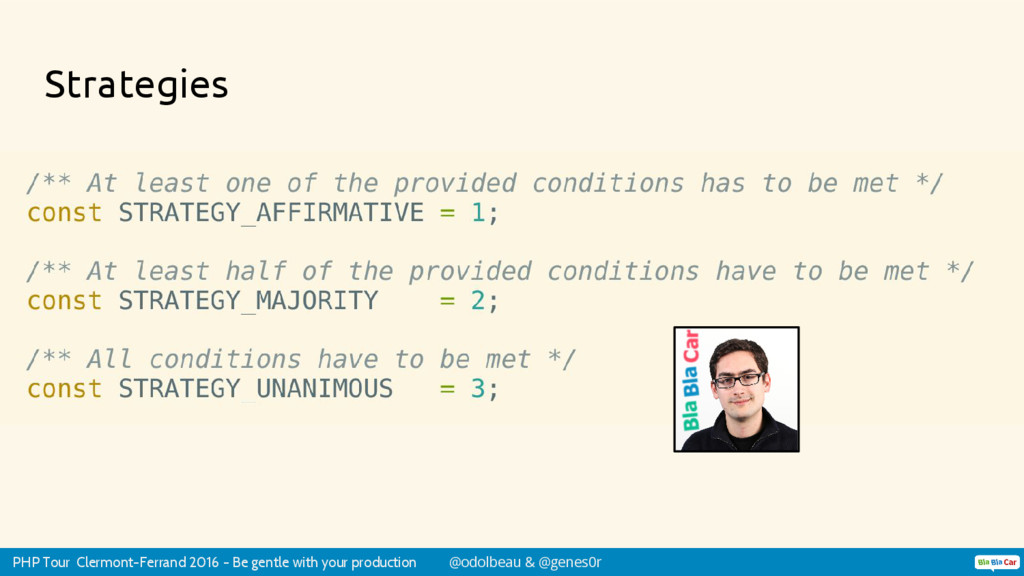 PHP Tour Clermont-Ferrand 2016 - Be gentle with...