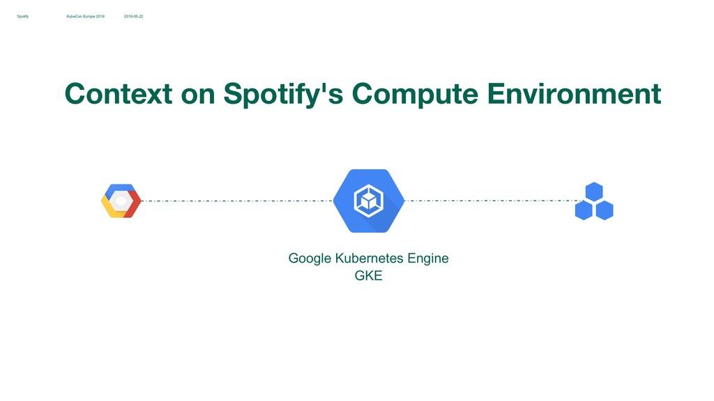 KubeCon Europe 2019 2019-05-22 Spotify Google K...
