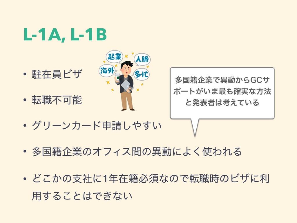 L-1A, L-1B • றࡏһϏβ • స৬ෆՄ • άϦʔϯΧʔυਃ͍͢͠ • ଟࠃ...