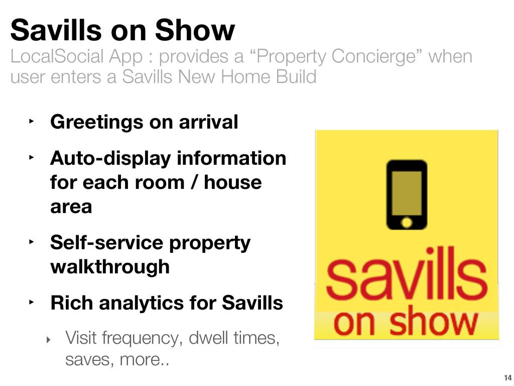 "LocalSocial App : provides a ""Property Concierg..."