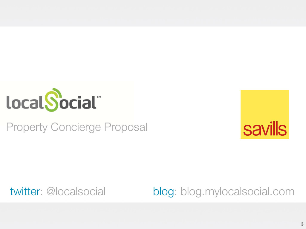 Property Concierge Proposal 3 twitter: @local...