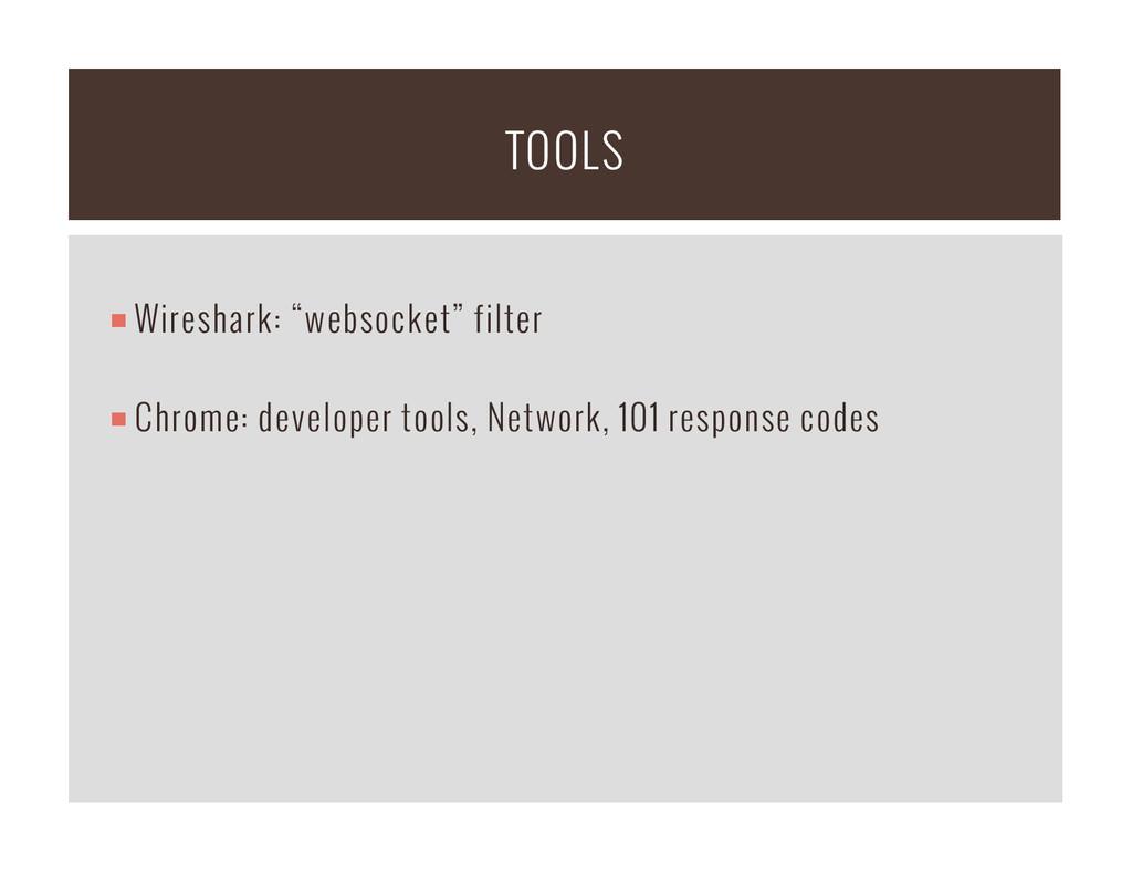 "¡Wireshark: ""websocket"" filter ¡Chrome: dev..."