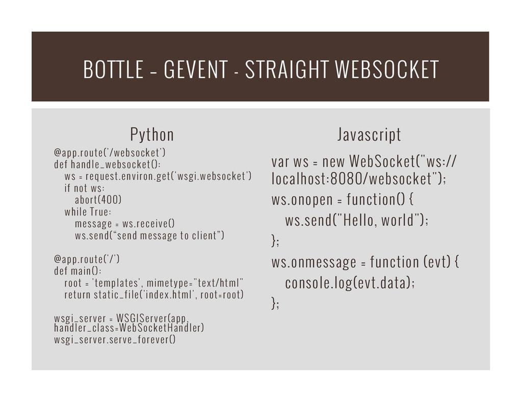 Python @app.route('/websocket') def handle_webs...