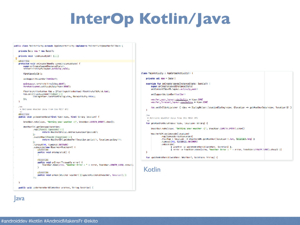 InterOp Kotlin/Java Java Kotlin #androiddev #ko...