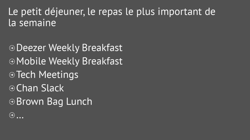 Le petit déjeuner, le repas le plus important d...