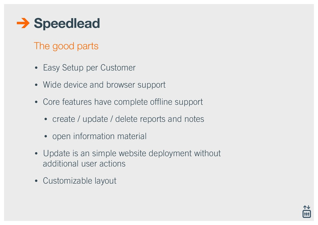 Speedlead • Easy Setup per Customer • Wide devi...