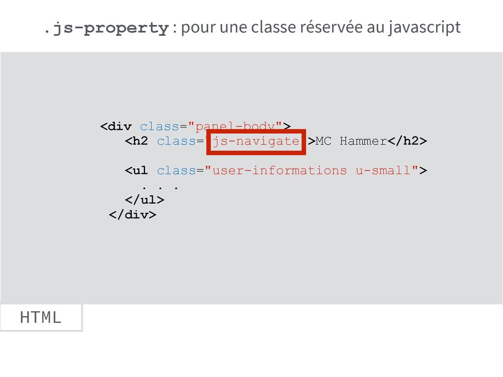 """HTML <div class=""""panel-body""""> <h2 class=""""js-nav..."""