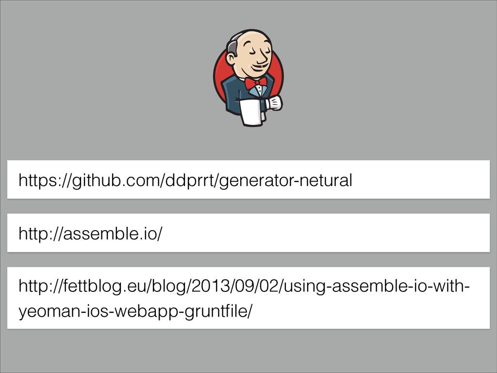 https://github.com/ddprrt/generator-netural htt...