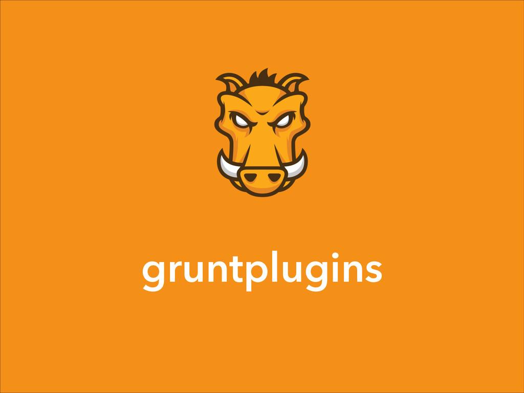 gruntplugins