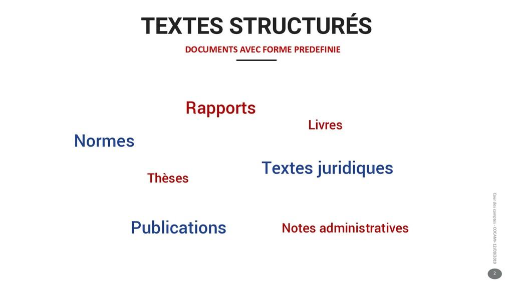 2 Cour des comptes - COCAM> 12/09/2019 TEXTES S...