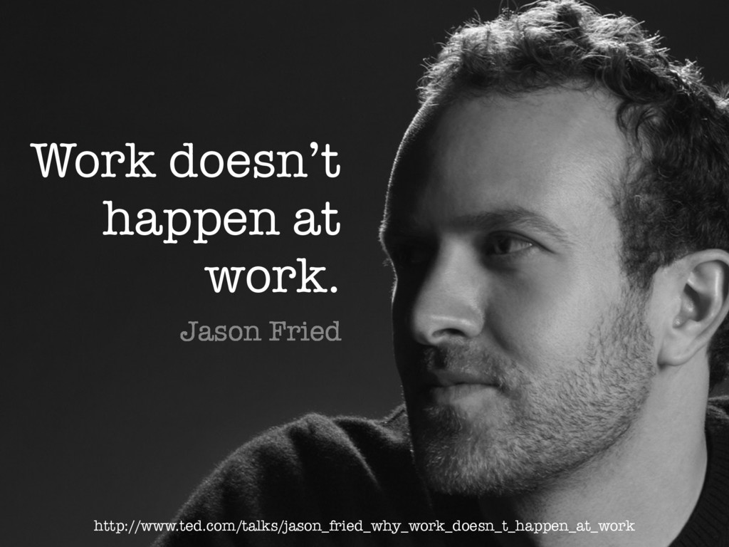 Work doesn't 
