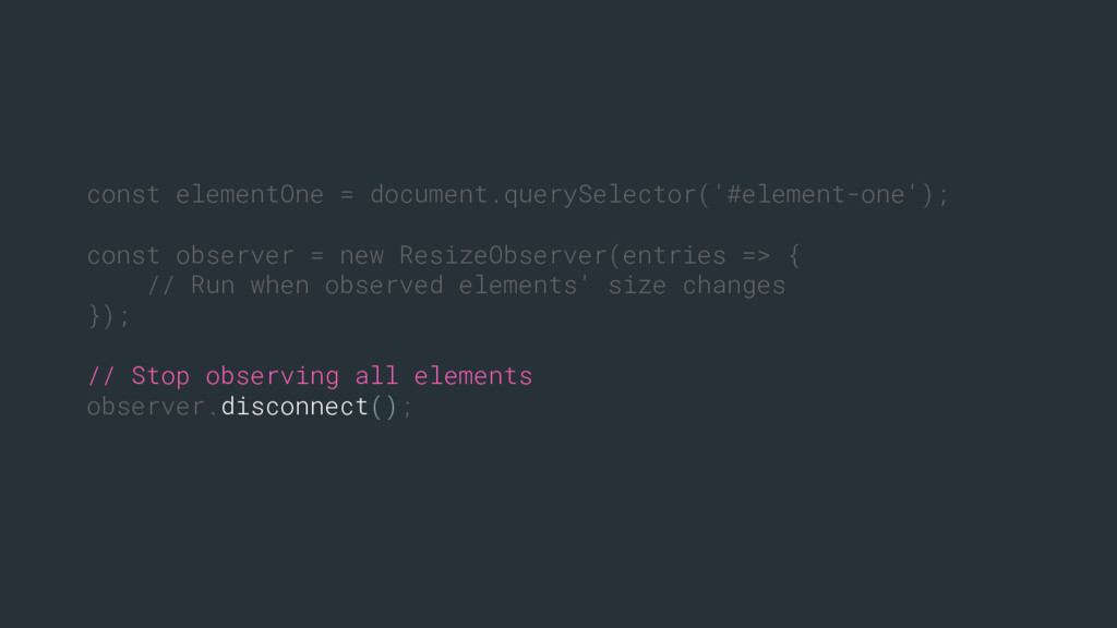 const elementOne = document.querySelector('#ele...