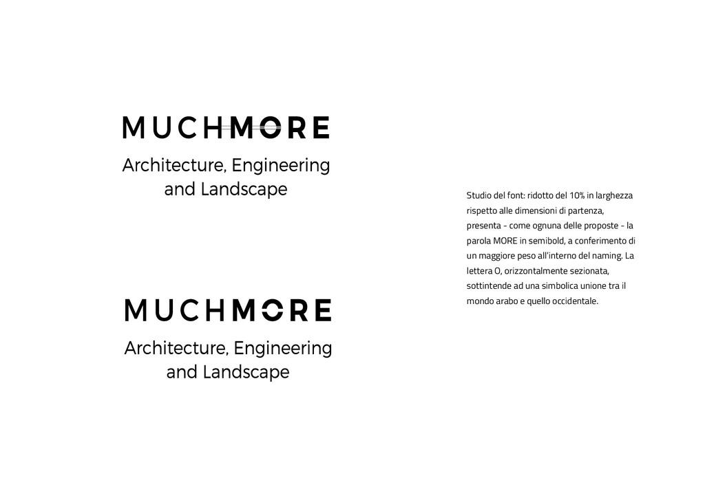 Studio del font: ridotto del 10% in larghezza r...