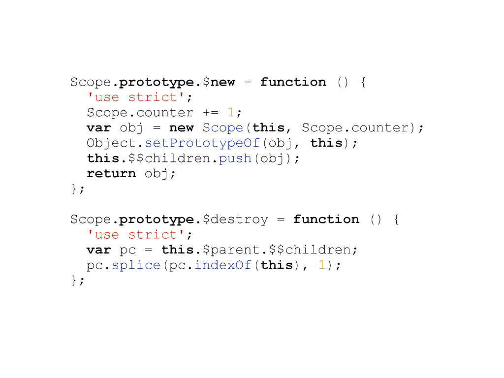 Scope.prototype.$new = function () { 'use stric...
