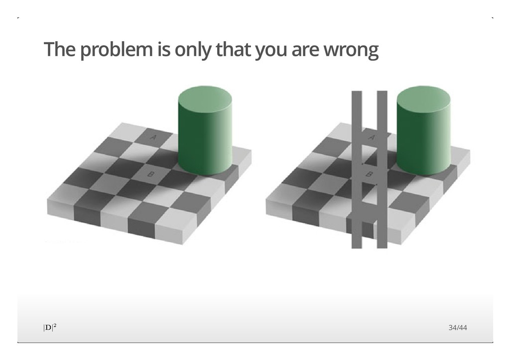 The problem is only that you are wrong 34/44