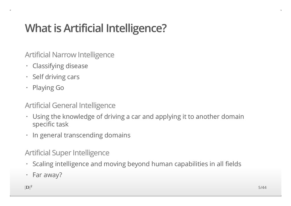What is Artificial Intelligence? Artificial Nar...