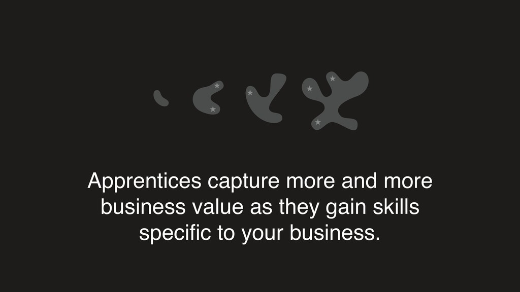 Apprentices capture more and more business valu...