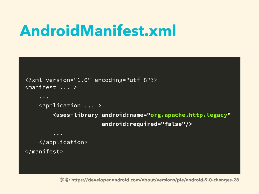 "AndroidManifest.xml <?xml version=""1.0"" encodin..."
