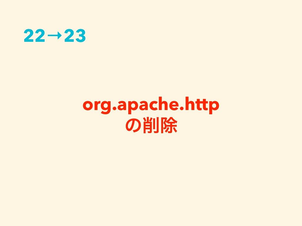 org.apache.http ͷআ 22→23