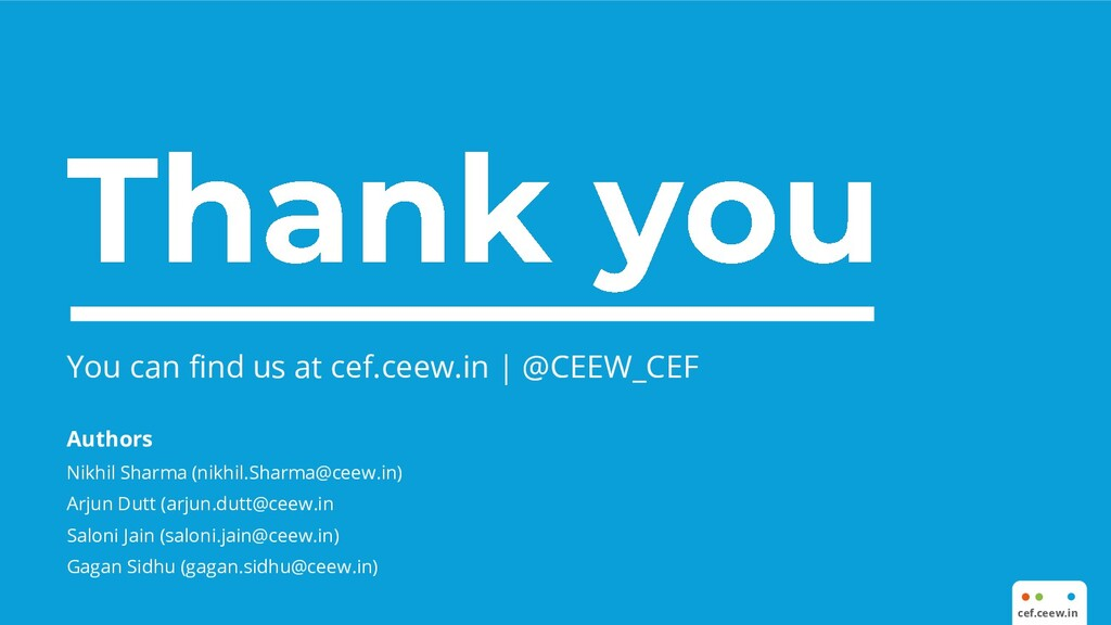 You can find us at cef.ceew.in | @CEEW_CEF Auth...