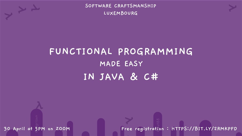 @algrison @yot88 FUNCTIONAL PROGRAMMING MADE EA...