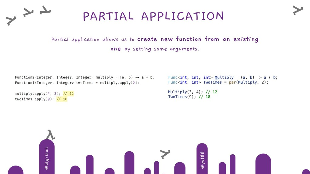 @algrison @yot88 PARTIAL APPLICATION Partial ap...