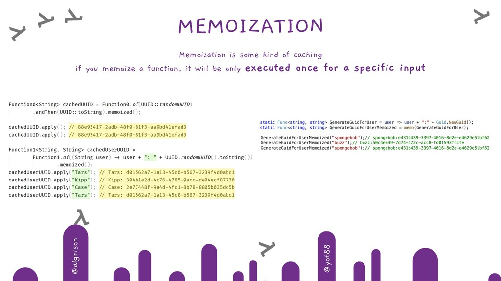 @algrison @yot88 MEMOIZATION Memoization is som...