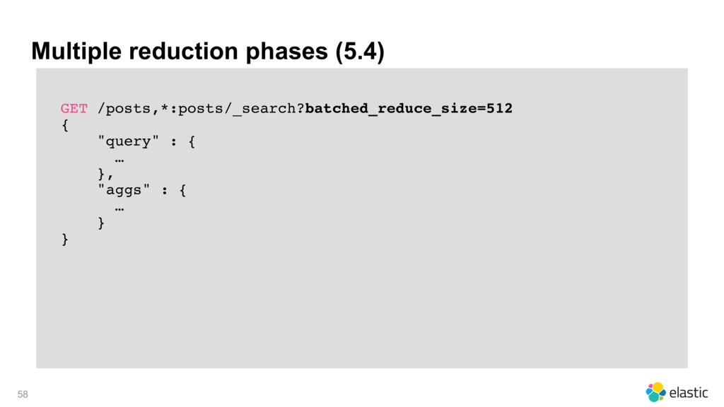 Multiple reduction phases (5.4) GET /posts,*:po...