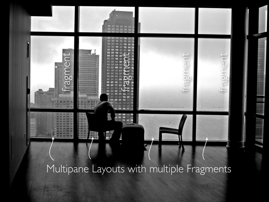 #andevcon Multipane Layouts with multiple Fragm...