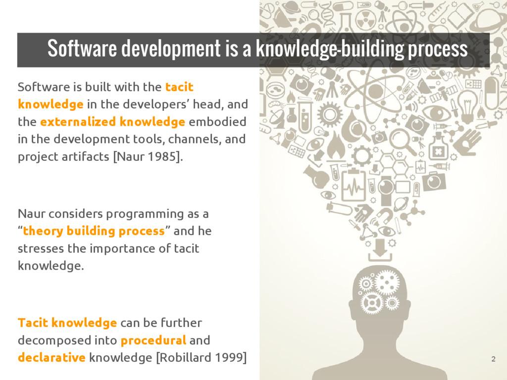 Software development is a knowledge-building pr...