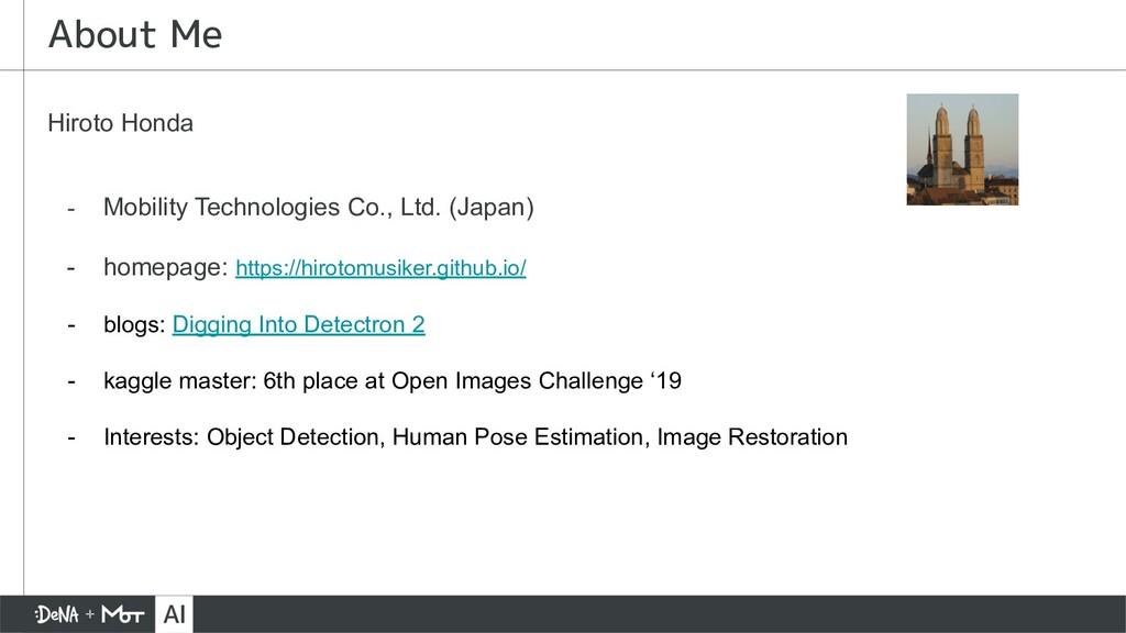 Hiroto Honda - Mobility Technologies Co., Ltd. ...
