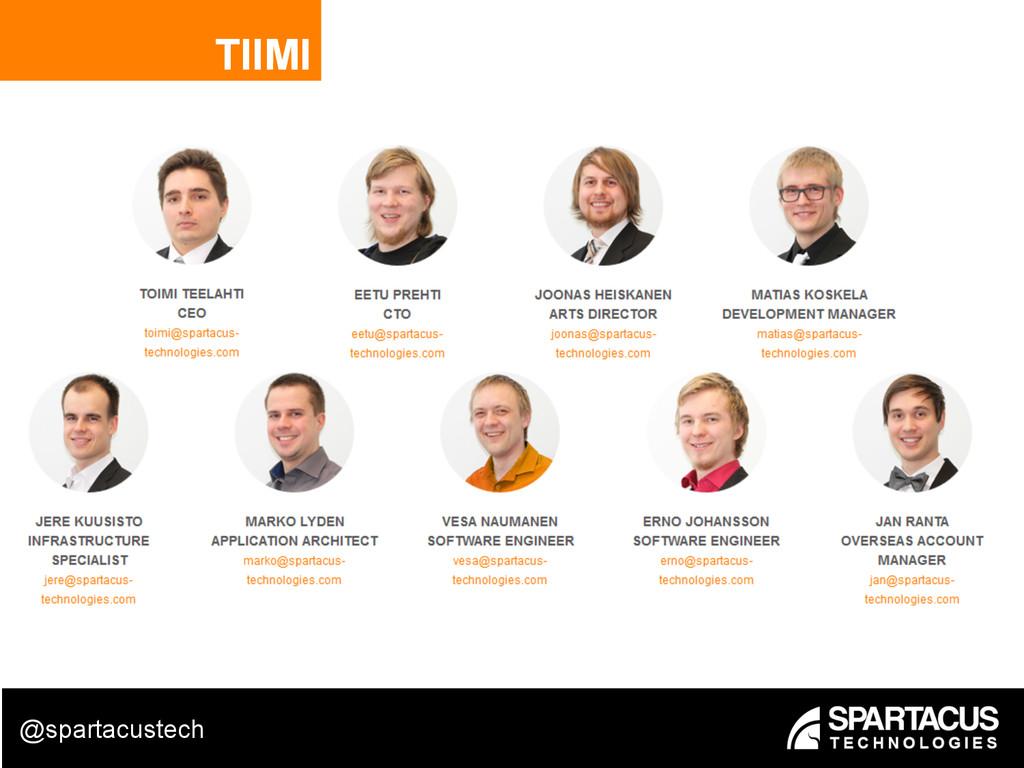 TIIMI @spartacustech
