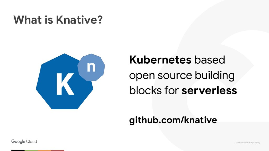 Confidential & Proprietary What is Knative? Kube...