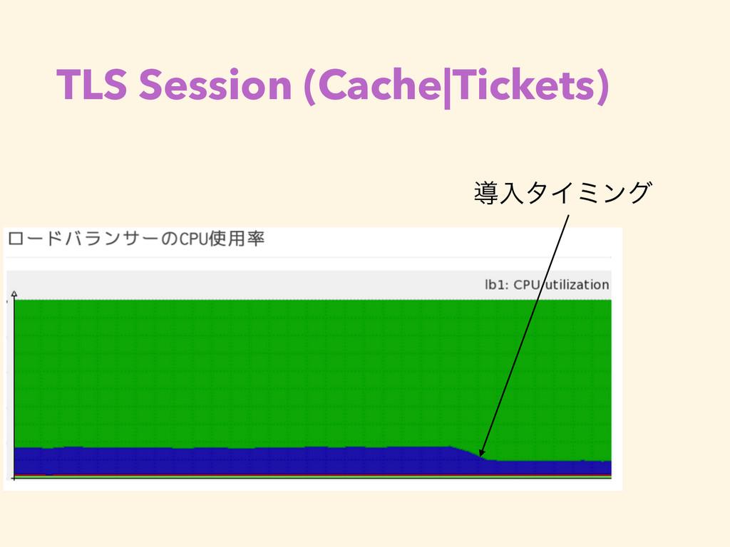 TLS Session (Cache|Tickets) ಋೖλΠϛϯά