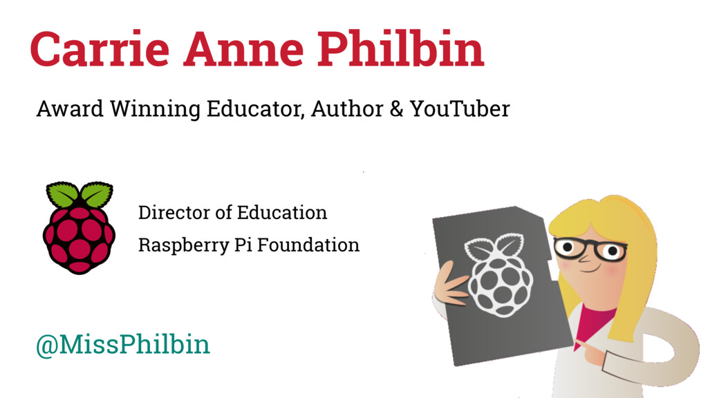 Carrie Anne Philbin Award Winning Educator, Aut...