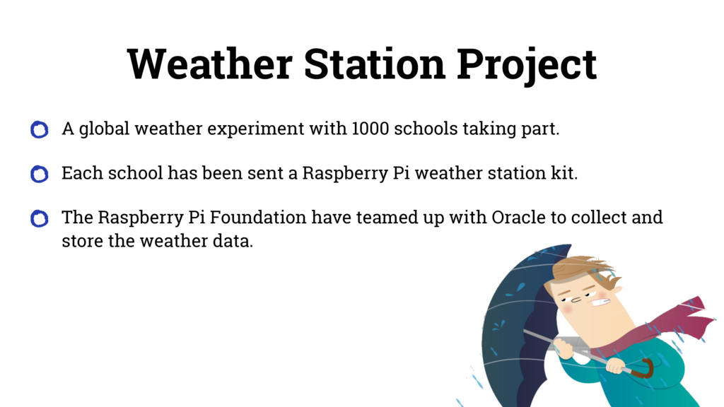 Weather Station Project A global weather experi...