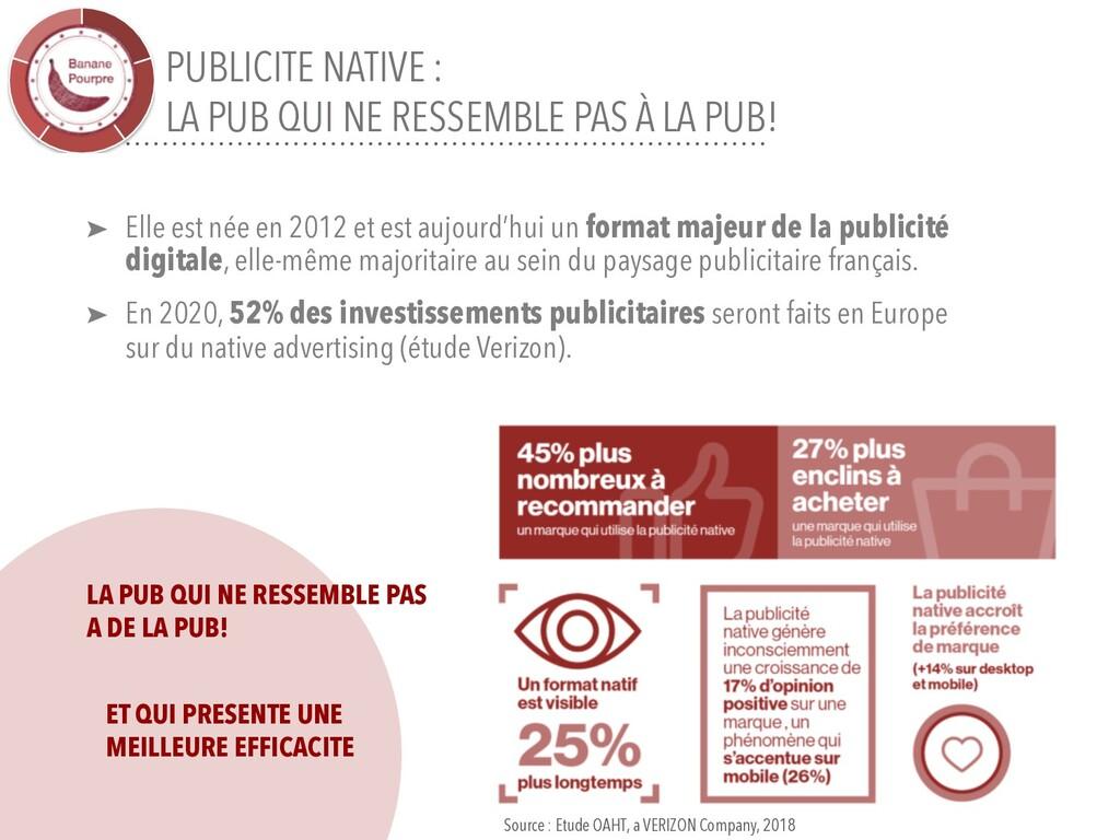 PUBLICITE NATIVE : LA PUB QUI NE RESSEMBLE PAS ...