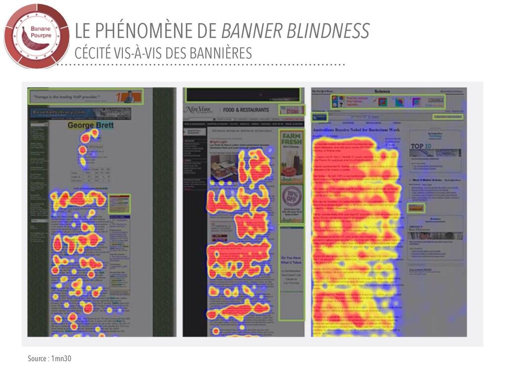 LE PHÉNOMÈNE DE BANNER BLINDNESS CÉCITÉ VIS-À-V...