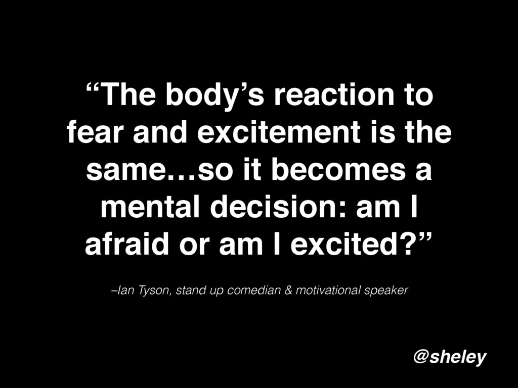 –Ian Tyson, stand up comedian & motivational sp...