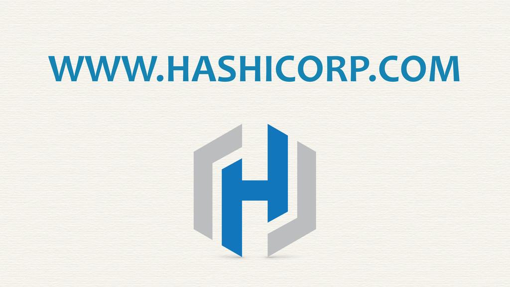 WWW.HASHICORP.COM