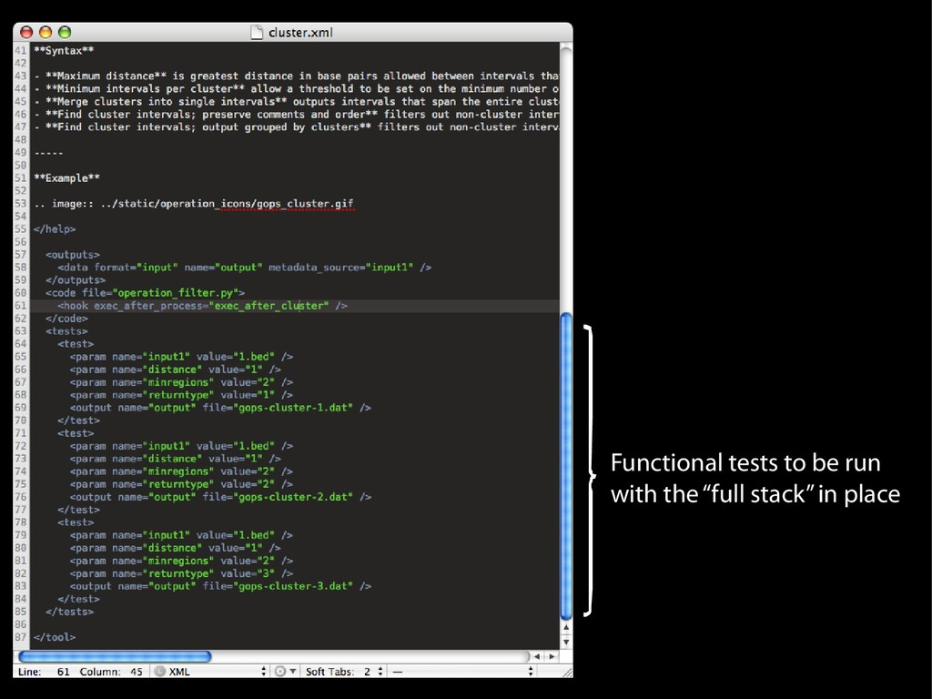 """Functional tests to be run with the """"full stack..."""