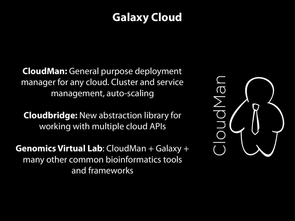 CloudMan: General purpose deployment manager fo...