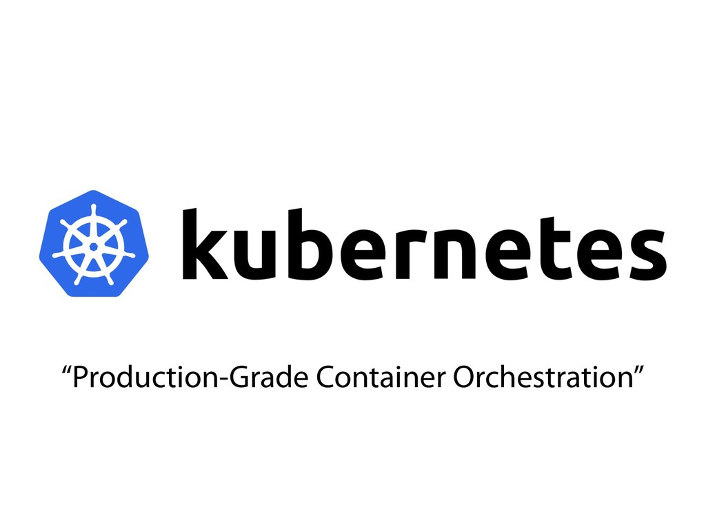 """""""Production-Grade Container Orchestration"""""""