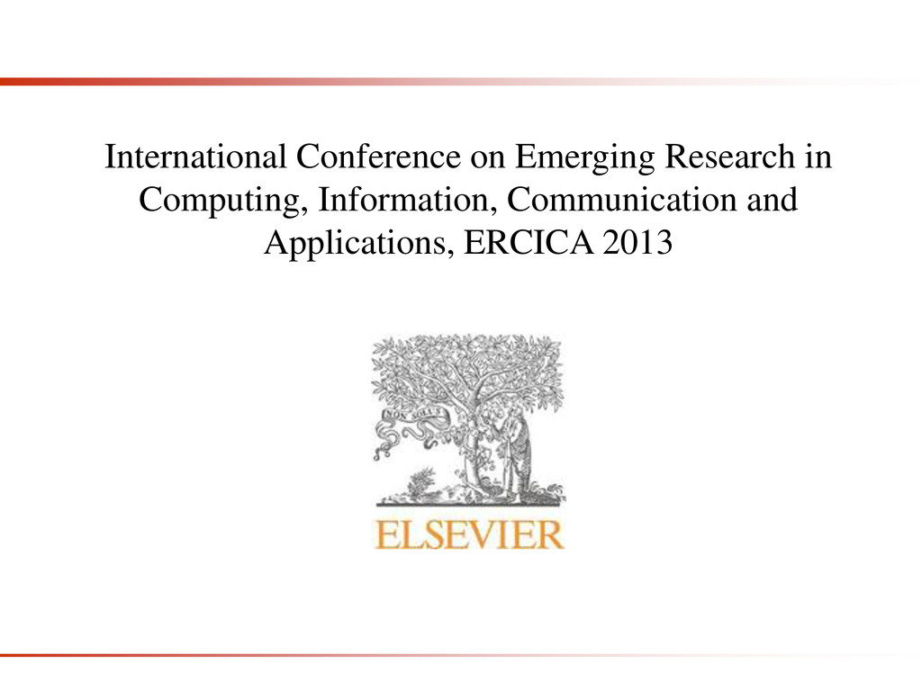 International Conference on Emerging Research i...