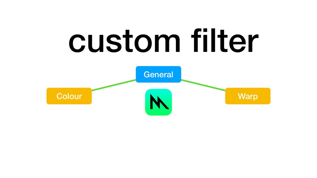 custom filter Colour General Warp